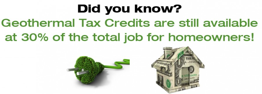 geothermal tax credits