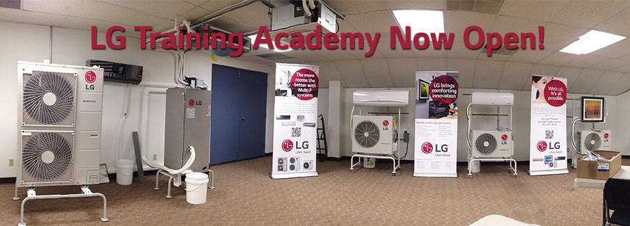 LG Training Academy Now Open